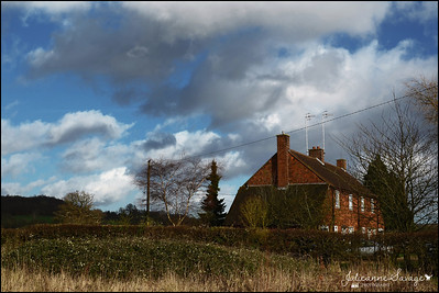Tandridge - stormy skies